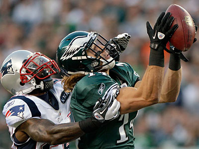 Eagles WR Riley Cooper averaged 80 yards per game in three starts last season. (Matt Slocum/AP Photo)
