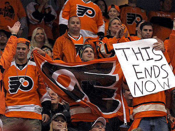 Flyers fans. (Yong Kim/Staff file photo)