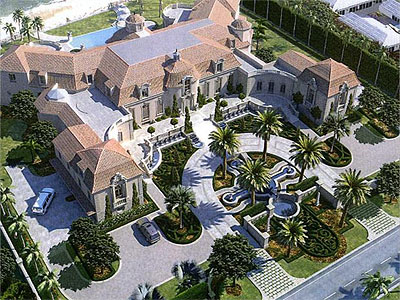 The Palm Beach home of Vahan Gureghian, Gov. Corbett´s largest campaign donor, who happens to be in the charter school business.
