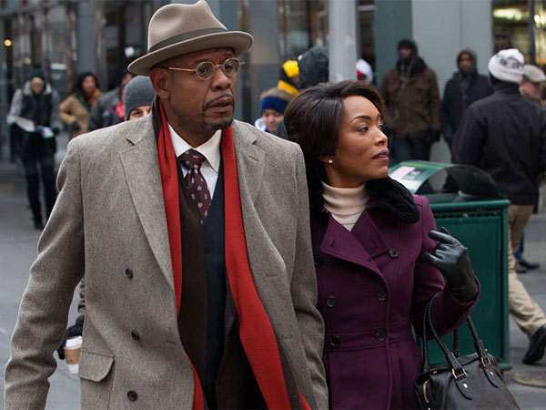 "In ""Black Nativity,"" Forest Whitaker portrays the Rev. Cornell Cobbs and Angela Bassett plays his wife Aretha."