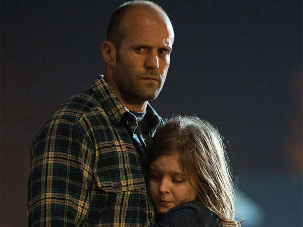 "Jason Statham as widower Phil Broker and Izabela Vidovic as his daughter Maddy in ""Homefront,"" directed by Gary Fleder."