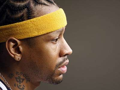 Sixers officials have discussed the possibility of signing Allen Iverson, but his return to Philadelphia is far from a sure thing. (AP Photo/Mark Humphrey)