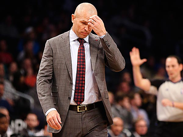 Nets head coach Jason Kidd. (John Minchillo/AP)