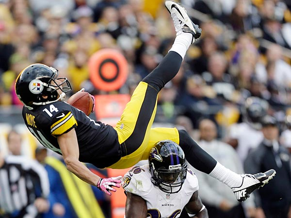 The Steelers and Ravens have both suffered missteps this season. (AP Photo/Gene J. Puskar)