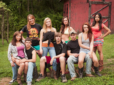 The cast of MTV&acute;s latest reality TV series, BUCKWILD. (Photo / MTV)