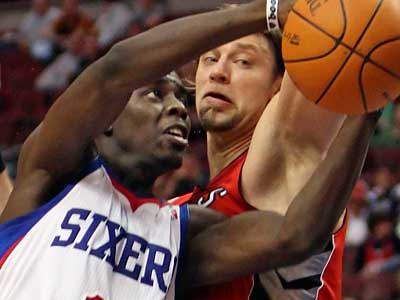 Jrue Holiday and the Sixers take on the Trail Blazers tonight ( Steven M. Falk / Staff Photographer ).