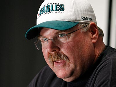 The Eagles have played on four days´ rest only once before during Andy Reid´s tenure. (Alex Brandon/AP)