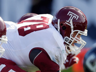 Temple fifth-year senior Sean Boyle has been cleared for a medical redshirt. (Michael Dwyer/AP file photo)
