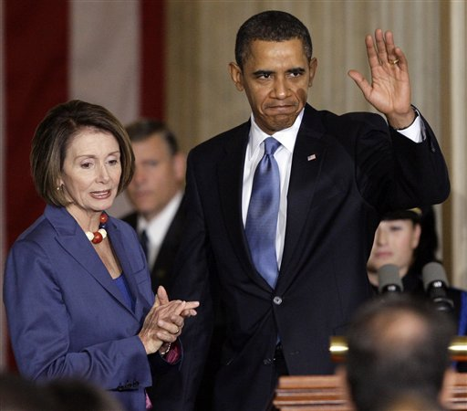 President Barack Obama needs to use his clout to get a better health care bill than the one House Speaker Nancy Pelosi helped get passed over the weekend. <br />