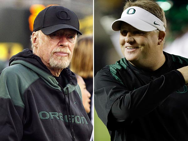 "Chip Kelly say it was ""really tough"" to leave Oregon"