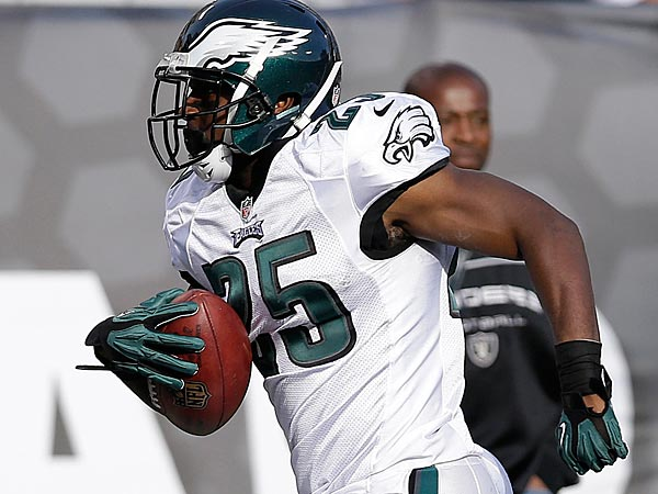 Philadelphia Eagles running back LeSean McCoy. (AP Photo/Marcio Jose Sanchez)