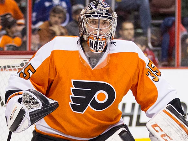 The Flyers will reward Steve Mason´s contributions in goal. (AP Photo/Chris Szagola)