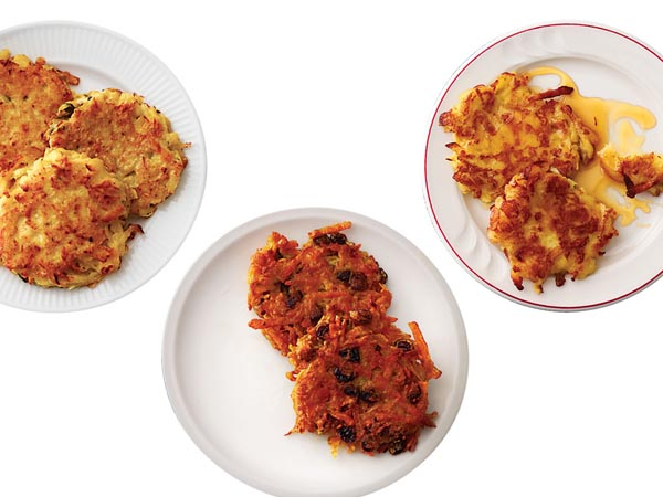 Grate expectations: 3 new twists on classic latkes