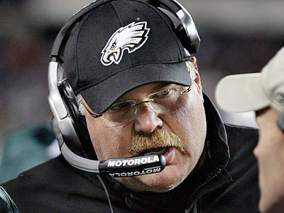Andy Reid and the Eagles host the Texans Thursday night from the Linc. (Elizabeth Robertson / Staff Photographer)