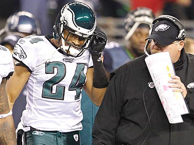 Nnamdi Asomugha told reporters Wednesday that he has no regrets about signing with the Eagles. (Ron Cortes/Staff Photographer)