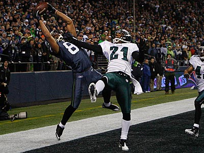 Golden Tate caught a 11-yard touchdown in the Eagles´ 31-14 loss to the Seahawks. (Ron Cortes/Staff Photographer)