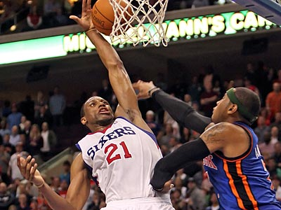 """I figure we´re close to getting something done soon,"" swingman Thaddeus Young said. (Steven M. Falk/Staff file photo)"
