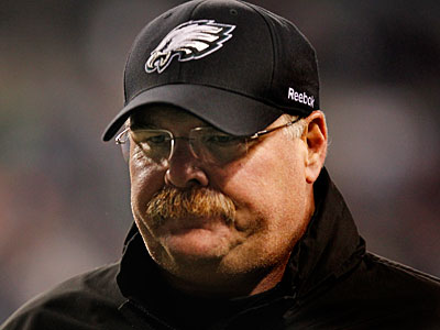 Andy Reid has not yet spoke with Jeffrey Lurie about his future with the Eagles. (Ron Cortes / Staff Photographer)
