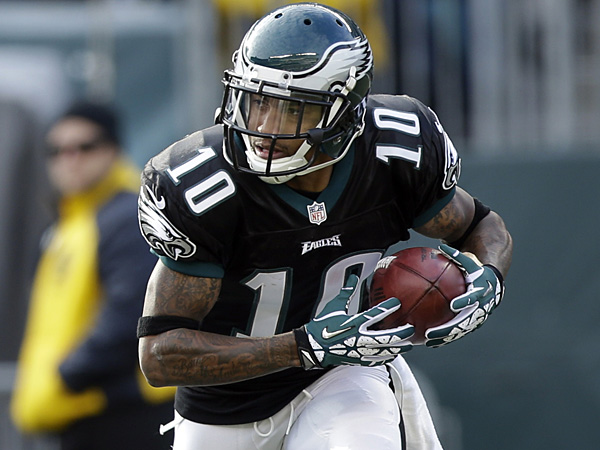 Eagles wide receiver DeSean Jackson. (Matt Rourke/AP)