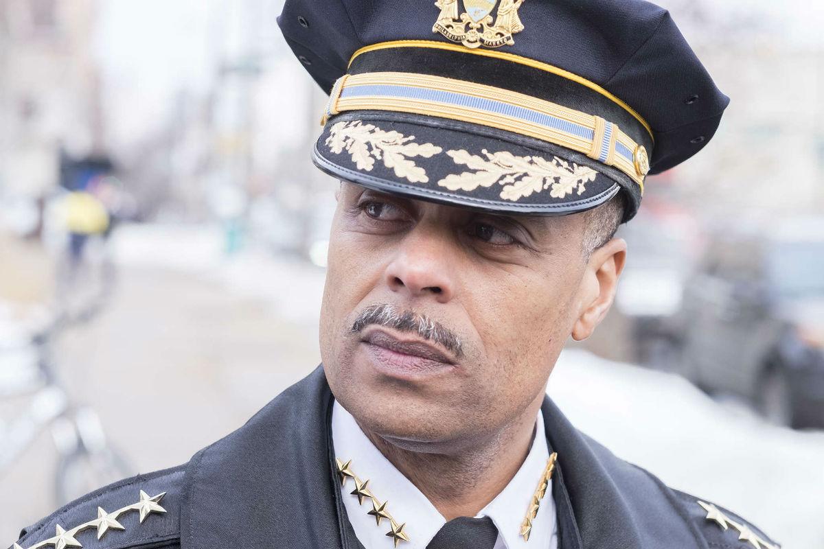 Philadelphia Police Commissioner Richard Ross.