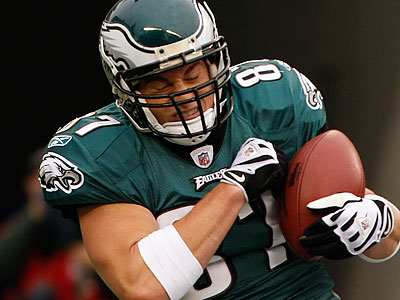 Brent Celek enjoyed a breakout season in 2009. (Michael S. Wirtz / Staff File Photo)