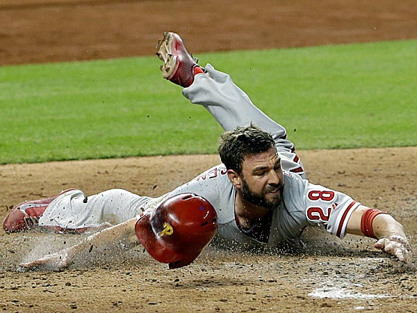 The Phillies´ Kevin Frandsen. (Alan Diaz/AP)