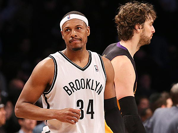 Nets forward Paul Pierce. (John Minchillo/AP)