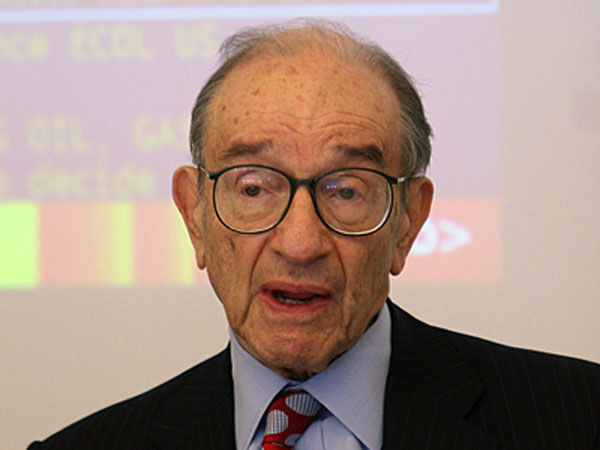 Alan Greenspan, ex-chairman of the U.S. Federal Reserve.