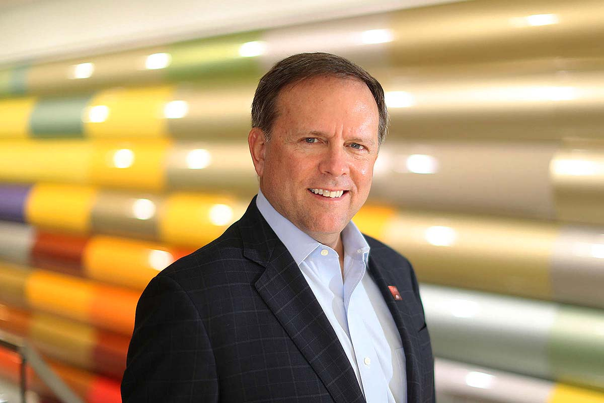 Charles W. Shaver is CEO of Axalta Coating Systems, which makes the paint on most cars.