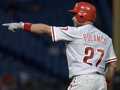 Placido Polanco has agreed to terms with the Phillies to become their new third baseman. (AP Photo/Stephen J. Carrera)