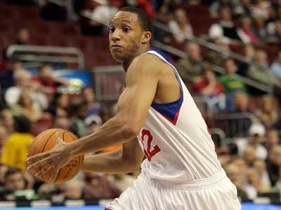 Sixers rookie Evan Turner will have to come off the bench in tonight´s game. (Yong Kim / Staff Photographer)