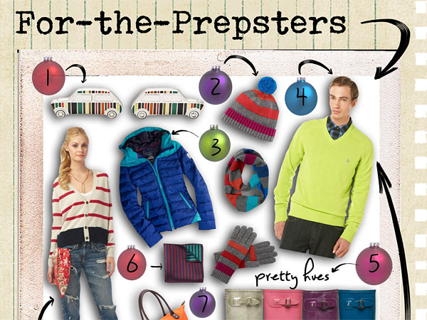 Some preppy gifting options this holiday shopping season. (Graphic / Caitlyn Sweeney, for Philly.com)