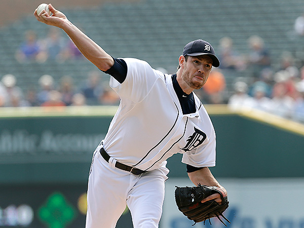 Doug Fister has been traded from the Detroit Tigers to the Washington Nationals. (Paul Sancya/AP file photo)