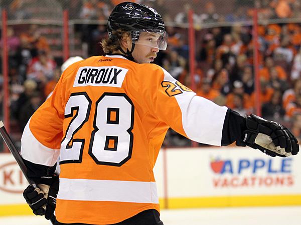 Flyers captain Claude Giroux. (Yong Kim/Staff file photo)