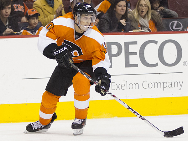 Flyers forward Vincent Lecavalier. (Chris Szagola/AP)