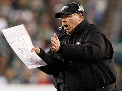 Andy Reid and the Eagles have a battle with the Giants down the stretch. (David Maialetti/Staff Photographer)