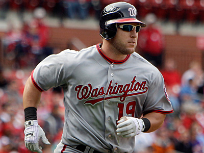 Laynce Nix Nix, 31, hit .250 with 16 home runs and 44 RBI in 124 games for Washington last season. (Jeff Roberson/AP)