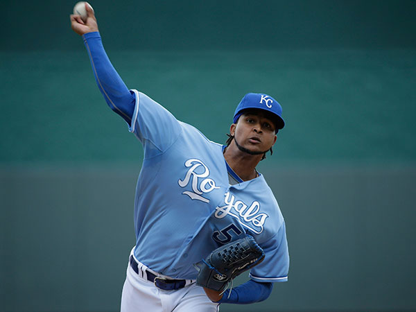 Ervin Santana is one of the top available free agent starting pitchers. (Charlie Riedel/AP)
