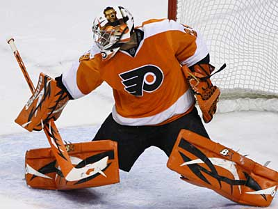 The Flyers have placed goalie Ray Emery on injured reserve. (AP Photo/Matt Slocum)
