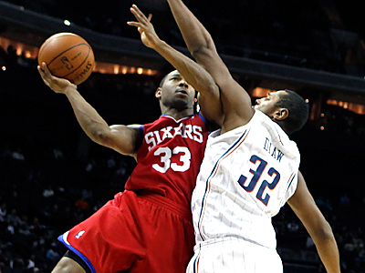 The Sixers traded Willie Green to the Hornets today. (AP Photo/Chuck Burton)