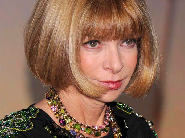 Vogue editor Anna Wintour attends The Museum of Modern Art Film Benefit honoring Baz Luhrmann on Monday, Nov. 10, 2008 in New York.  (AP Photo/Evan Agostini)