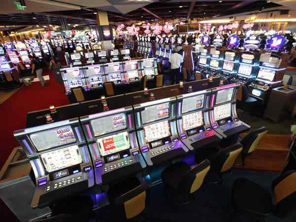 Shown is an interior view of the gaming floor at  the SugarHouse Casino, Philadelphia´s only casino so-far. It opened on for Sept. 23, 2010. (AP Photo/Matt Rourke)