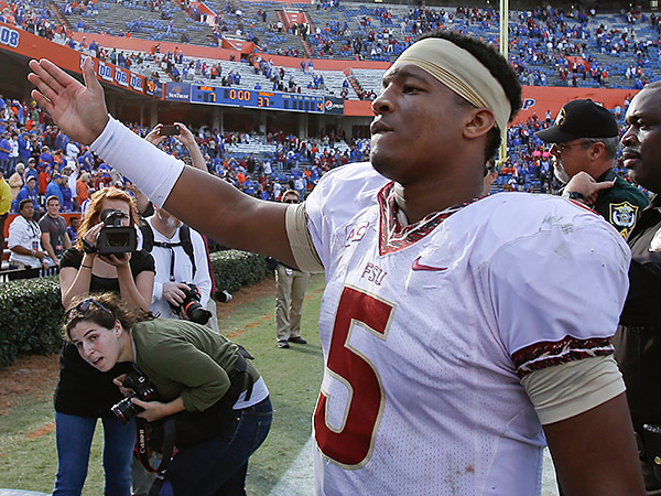 Florida State quarterback Jameis Winston. (John Raoux/AP)
