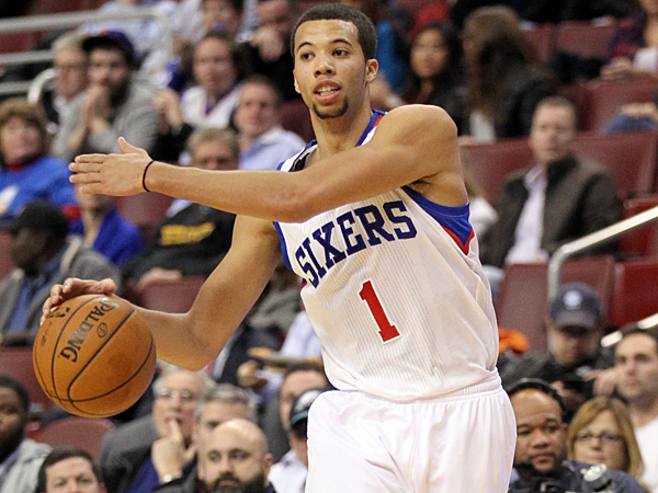 Sixers rookie point guard Michael Carter-Williams. (Yong Kim/Staff Photographer)