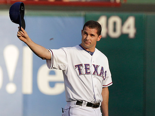 Michael Young. (LM Otero/AP file photo)