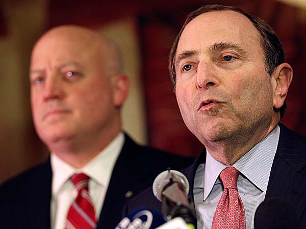 After three-plus months with little significant negotiating, the NHL and the players' union have traded four proposals, two each, since last Thursday as they attempt to end their labor dispute. (Mary Altaffer/AP file photo)