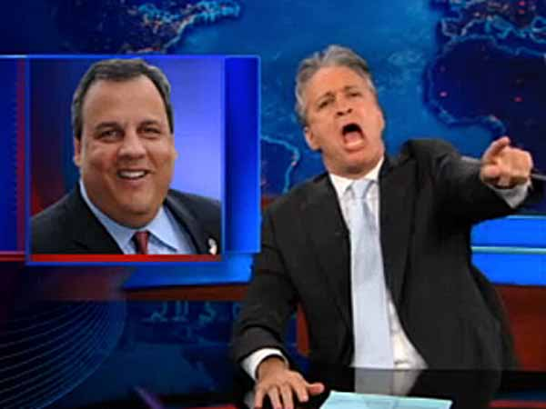 Jon Stewart has called out Chris Christie on several issues in the past.