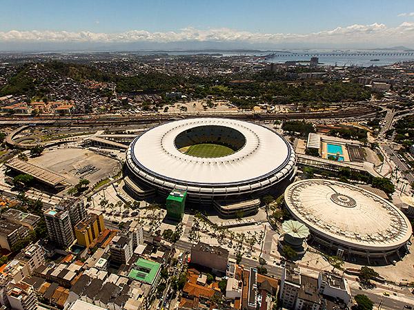 The legendary Estádio do Maracanã in Rio de Janeiro will host the championship game of the 2014 World Cup. (AP)