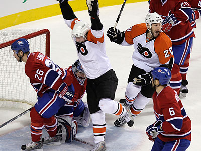 The Flyers make their first visit of the season to Montreal tonight. (Ron Cortes/Staff file photo)