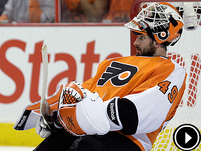 Is Michael Leighton ready to return to the Flyers? (Yong Kim / Staff Photographer)